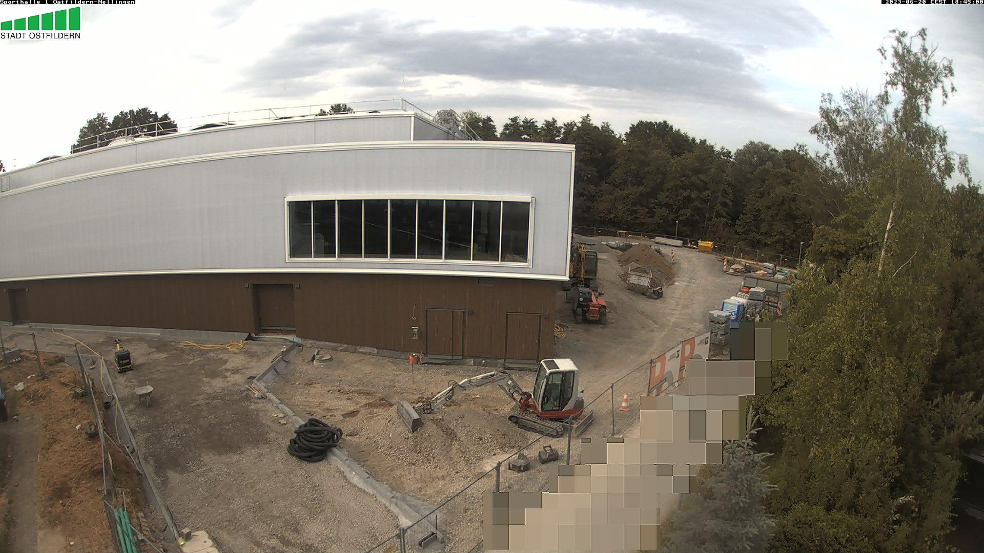 Baustelle Sporthalle 1